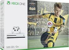 500 GB  3 games : GTA V , FORZA 3 , FIFA 17