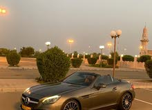 مرسيدس بنزslc300 خليجي وكالة عمان السياره بقمة النظافه