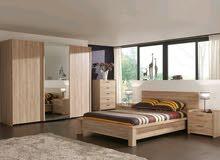 شركة bee furnture بتقدملك عرض ال45بدل ال55 ويشمل غرفة نوم انتريه سفرة اربع كراسى