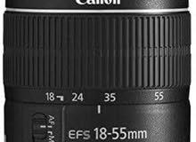 canon kit 55mm عدسة كانون 55
