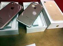 افضل سعر على ايفون 7 32 & 128 بحالة الجديد مع كفالة