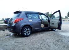 السلام عليكم في عندي نيسان تيدا للبيع السيارة ماشاء الله تبارك الرحمن سيارة كسب