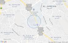 شقه غير مفروش بشارع الجامعة الأردنية خلف أجنحه الخليج مقابل الجامعة الأردنية