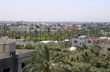 للبيع 350 متر وسط البلد  مدينة دير البلح على ثلاث شوارع
