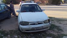 Automatic White Kia 1996 for sale