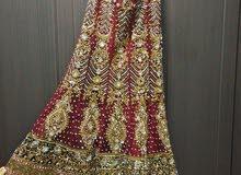 فستان هندي راقي جدا للعرائس