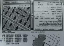 للبيع أرض سكنية في حي الرفعة مربع 20
