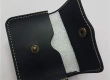 محفظة ماركة teemzon جديدة جلد طبيعي