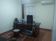 غرفة مكتب للايجار بالفرش بمكتب تركيبات بمدينة نصر دور رابع بدون اسانسير
