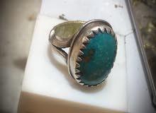 خاتم رضوي صياغة فضة 1000 .