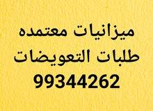 ميزانيات معتمده. طلبات التعويضات 99344262