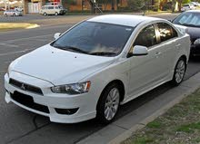 Automatic 2016 Lancer for rent
