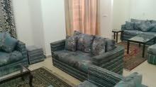 شقة مفروشة للايجار بالحي الاول علي المحور الرئيسي خطواط من جامع الحصري