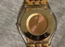 ساعة swatch ماركه عالميه نسائية