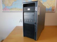بالضمان ..ب2 برسيسور ..للرندر والجرافيك العالي HP WORKSTATION Z800