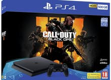 Playstation 4 500gb and call of duty b.o.p.s4 متوفر حاليا في محل Boost