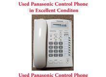 للبيع تلفون كنترول رئيسي باناسونيك مستعمل For Sale Used Panasonic KX-T7665 Control Phone
