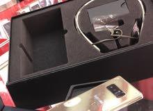 Note 8فل بكج سماعه بلوتوث لفل بحاله الجديد 0797072998