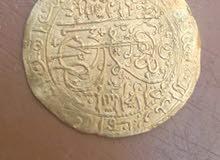 عملة نادرة ذهبية قديمة
