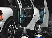 شعارات ضوئية لابواب السيارات