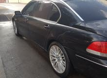 Black BMW 750 2006 for sale