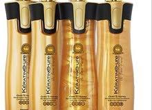 كيراتين بايو كيور بالذهب والعسل لتقوية الشعر وفرده بدون فورمالين
