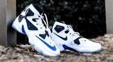 شوز nike zoom white blue