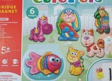 ألعاب تعليمية للأطفال لمختلف الأعمار