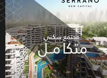 Second Floor apartment for sale - New Cairo