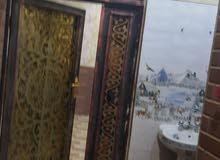 بيت بيت حديث مساحته 100م طابقين الطابق الارضي استقبال+صاله+مطبخ+صحيات الطابق الث