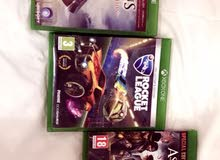 video games Xbox one (3 pieces together)