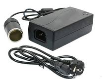 لتشغل اي جهاز سيارة على كهرباء المنزل اليكم المحول الكهربائي