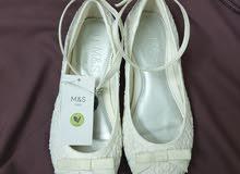 حذاءابيض للعيد جديد new white shoe