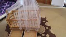 سرير مولود بيبي شبه جديد 375  نقدا