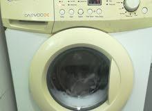 غسالة ملابس عدسة توماتيك نوع داوو الاصليه 7 ك مستعملة استعمال نظيف بحالة المصنع