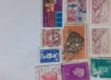 طوابع بريدية قديمة للبيع