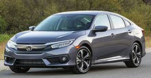 For rent a Honda Civic 2018