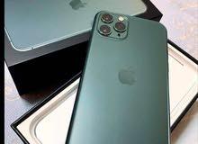 آيفون 11برو اللون أخضر 64 جيبي