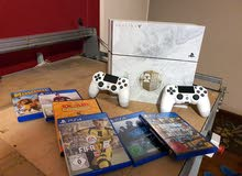 ps4 lemted Edetion Eurob with 2org..re.control