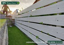 WPC Fence Suppliers over all UAE  WPC Privacy Fence  Wall Fence  Privacy Fence