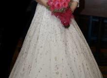 Wedding dress by famouse designer