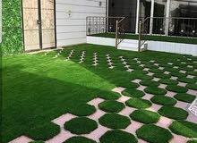 بيع وتوريدالعشب الصنا عي تنسيق حد ايق  متخصصين في تركيب العشب ا