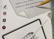 لزقه شاشه حمايه ايبادscreen protector iPad like paper