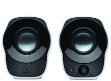 Logitech Stereo Speakers مكبرات صوت ستيريو لوجيتك