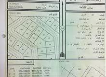 للبيع ارض سكنية شبه كورنر ممتازة في الدقم مخطط 60