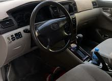 Used condition Toyota Corolla 2007 with +200,000 km mileage