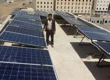 تم تنفيذ منظومه شمسيه متكامله نظام 48 V