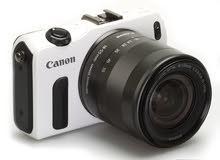 canon eos m مستعمل بحالة الوكالة