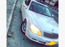 Mercedes Benz S 500 2001 For sale - White color