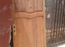 باب لوح دخلي من غير قفص طول 2 متر عرض 90 سنتي